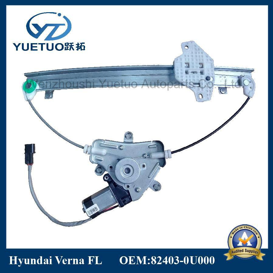 Verna Car Power Window Lifter for Hyundai 82403-0u000, 82404-Ou000
