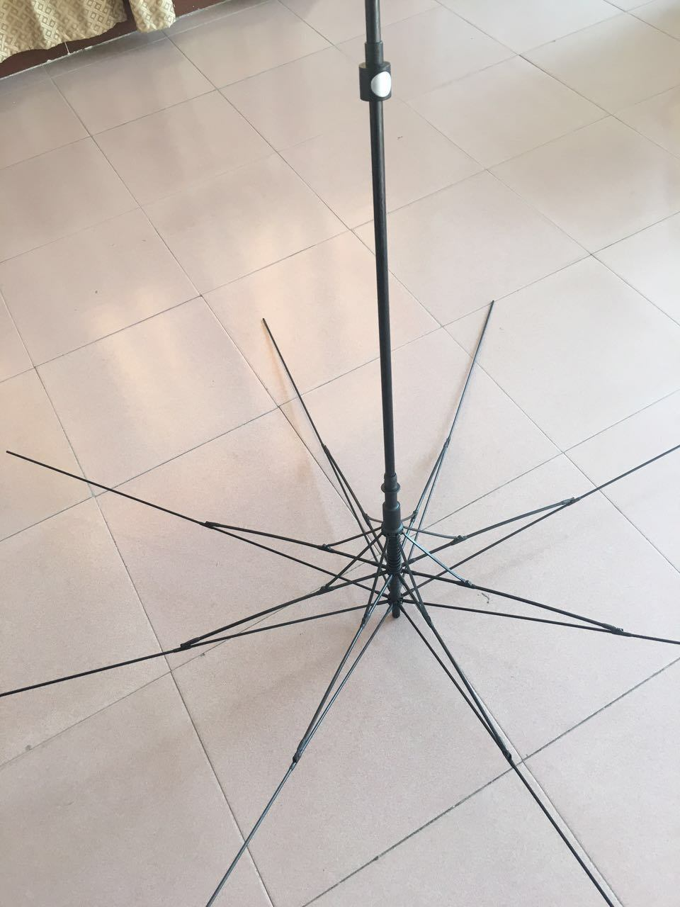 The Middle Type Fiber Frame Umbrella
