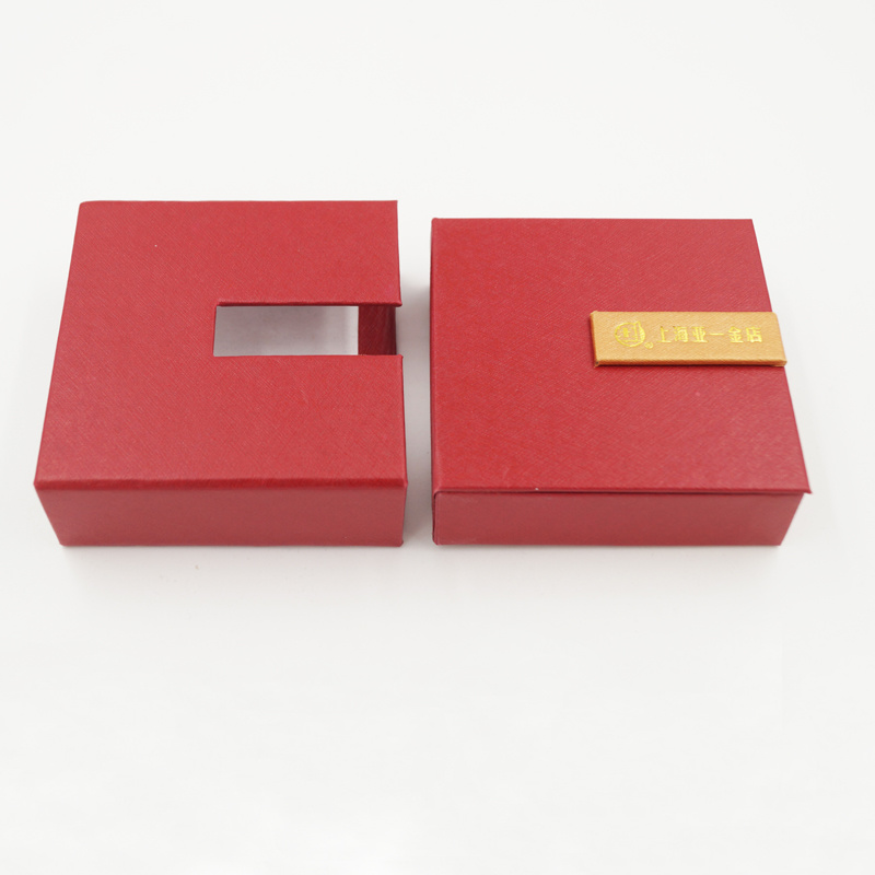 Well-Received Logo Printing Cardboard Packaging Jewelry Box (J32-C1)