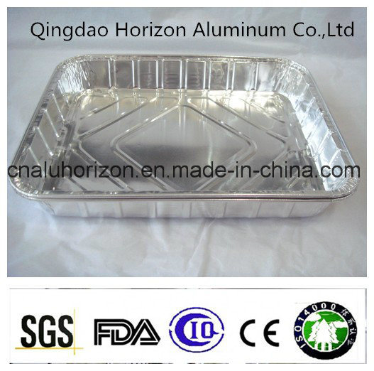 High Level Aluminum Foil Pan for Barbecue