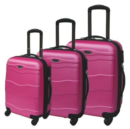 Promotion ABS Zipper Style Luggage in 20/24/28