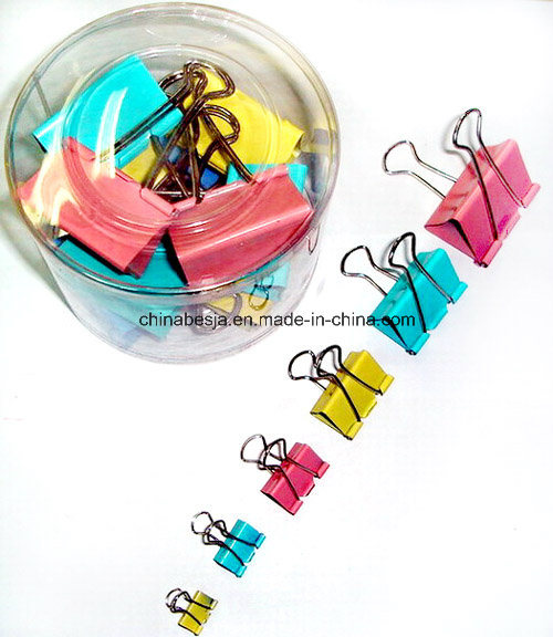Manufacturer of Binder Clips, Black Binder Clips, Colored Binder Clips in China