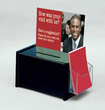 Customize PMMA Clear Acrylic Vote Box