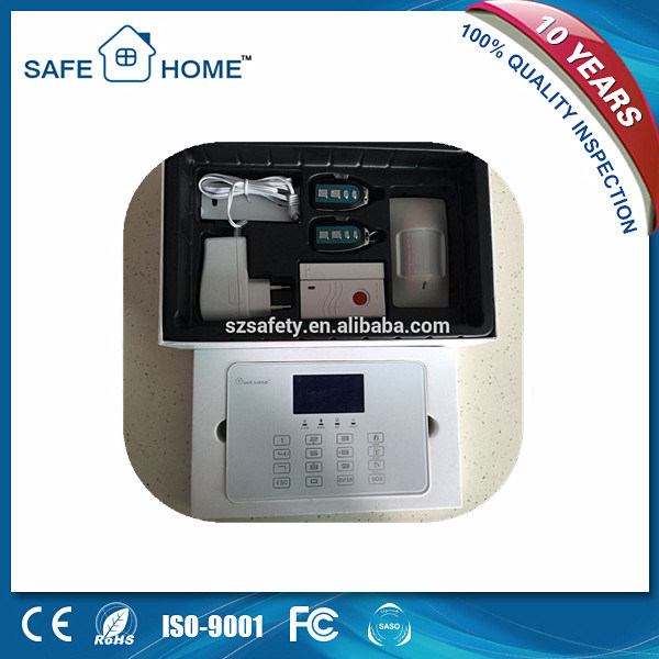 Intelligent Security Built-in Speaker and Touch Keypad GSM Alarm System