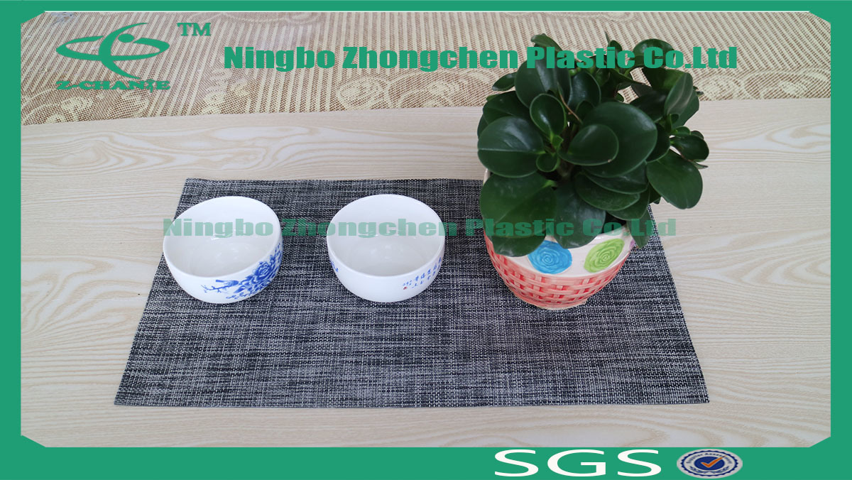 OEM Produce Customized Cotton Table Mat Rubber Placemats