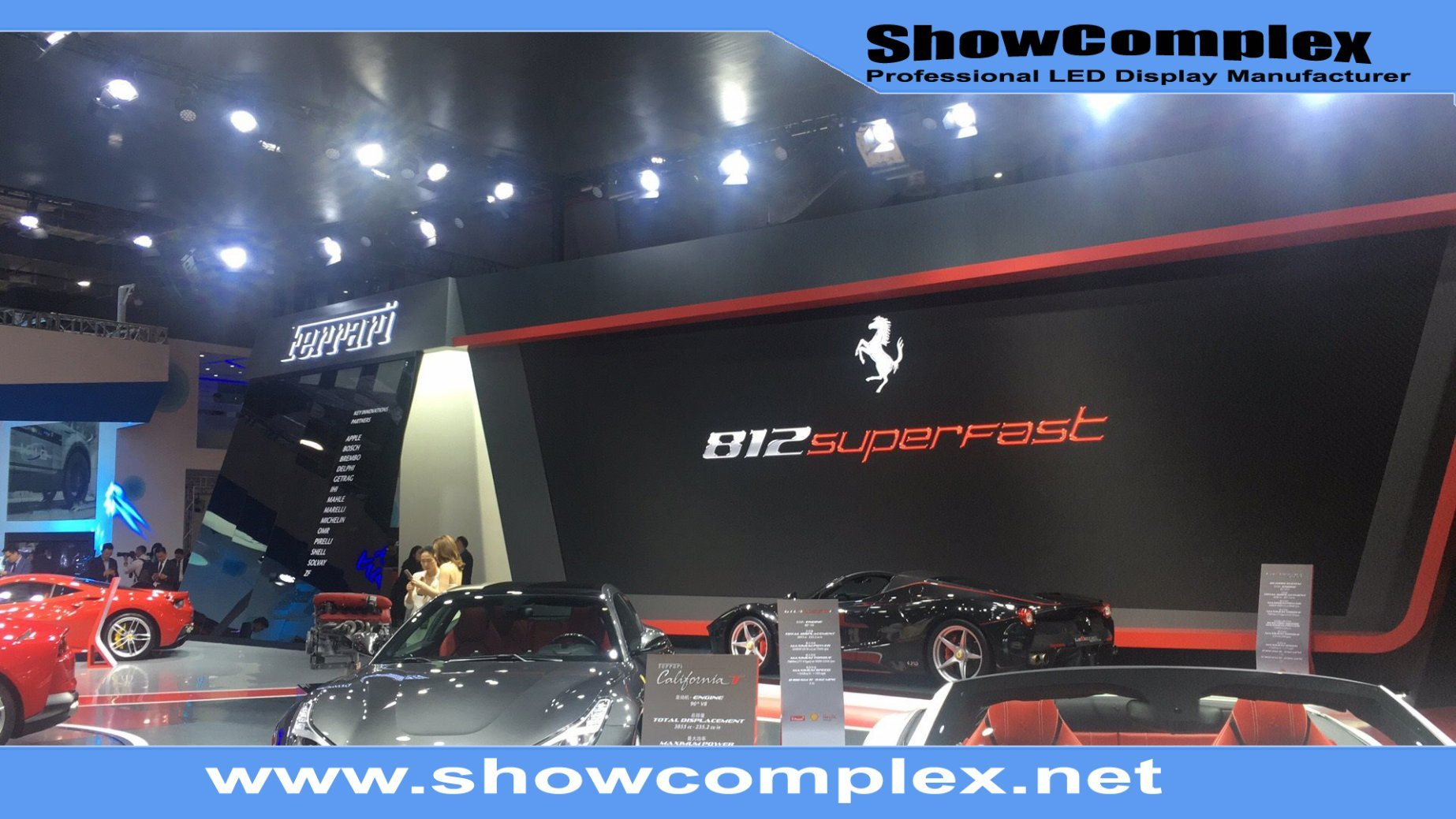 China Outdoor Full Color Rental LED Display Screen for Meeting