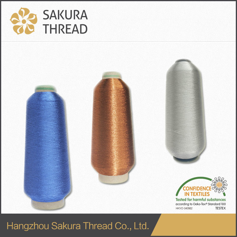 M, Mx, Mh, Ms Metallic Thread with High Tenacity