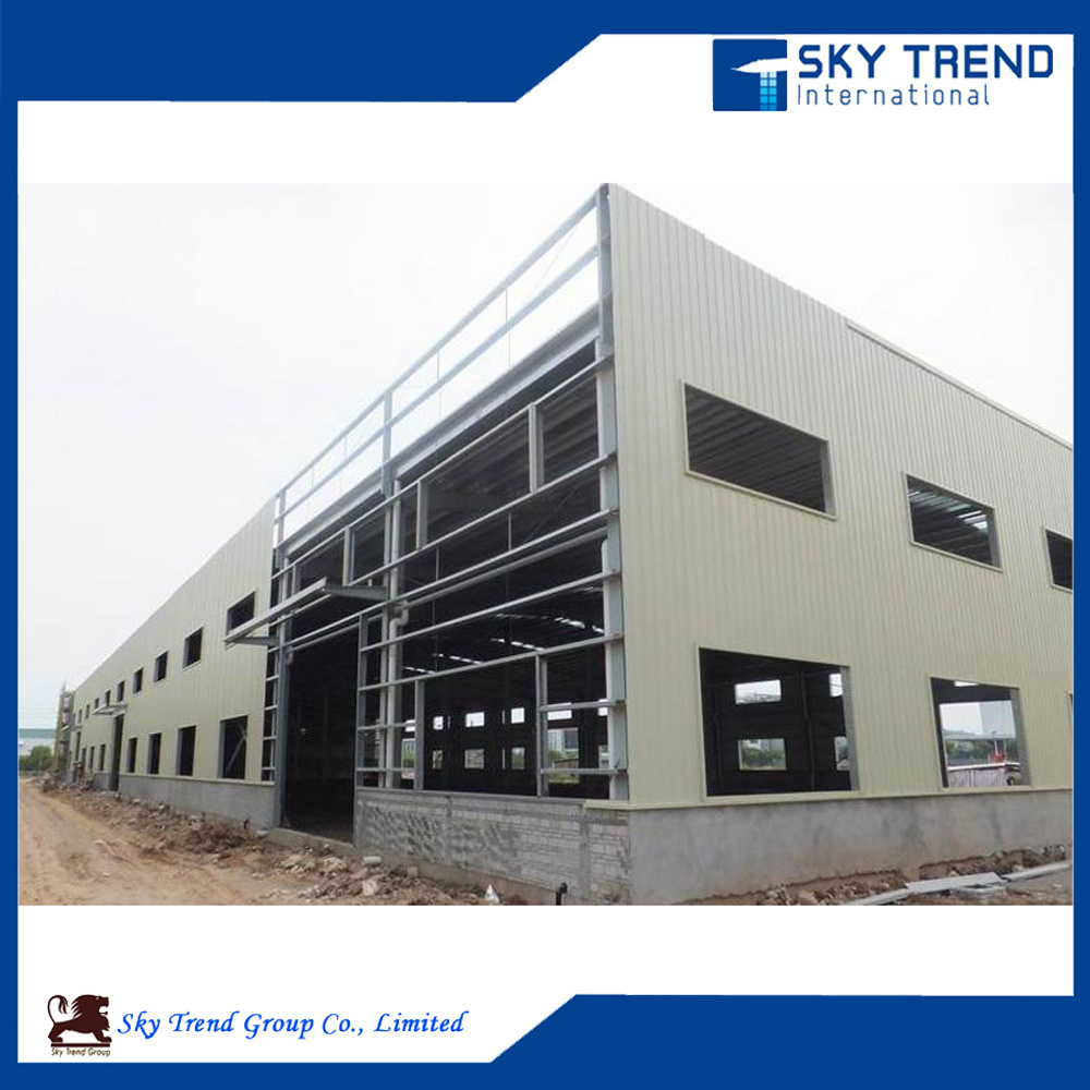 Prefabricated Steel Frame Structure Building Workshop for Cold Storage Steel Hangar Steel Garage