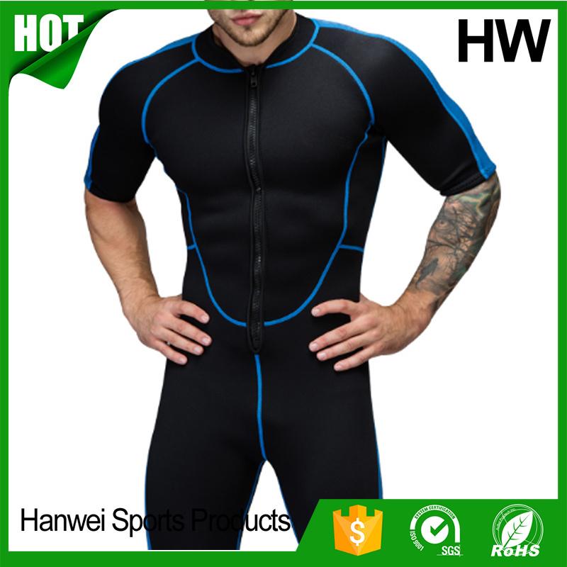Factory Direct Marine Back Zipper Neoprene Surfing Wetsuits (HW-W004)