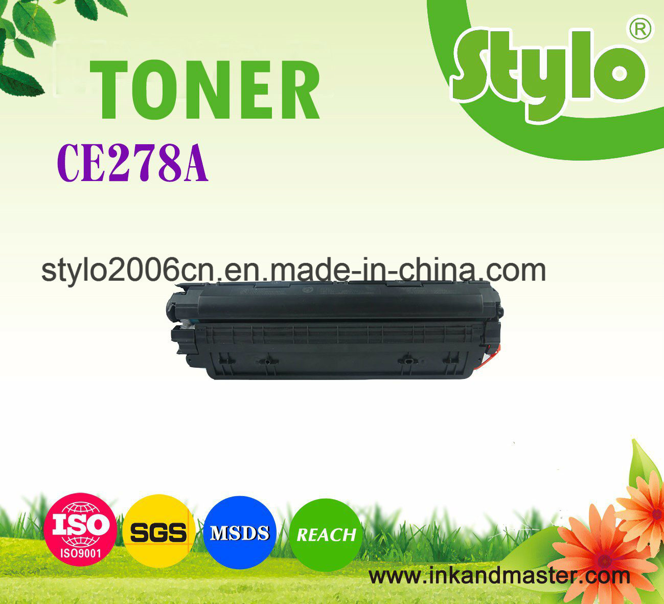 Ce278A Laser Toner Cartridge for P1566/1606dn/M1536dnf/M1530/1506