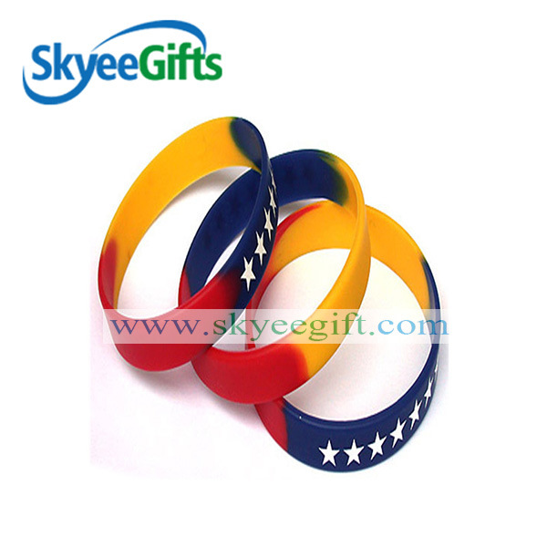 Promotional Sgement Silicone Wristbands