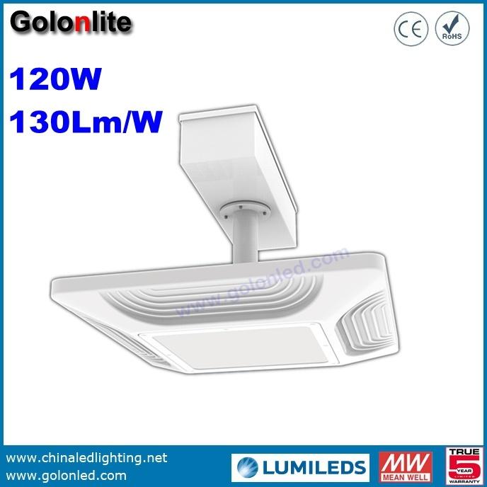 Shenzhen Factory High Quality Super Bright 130lm/W 150W 100W 120W LED Gas Station Lighting