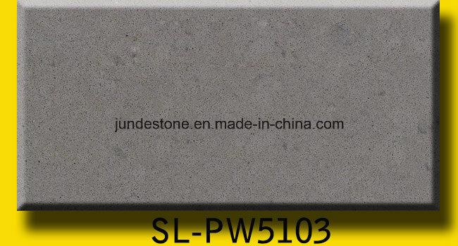 Grey Calacatta Artificial Quartz Countertops and Quartz Stone Slabs