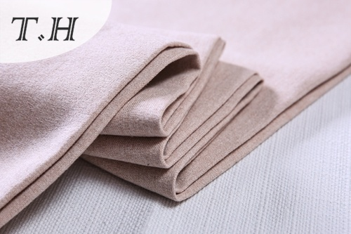 Soft Linen Sofa Fabric for Furniture and Chair (FTD31051)