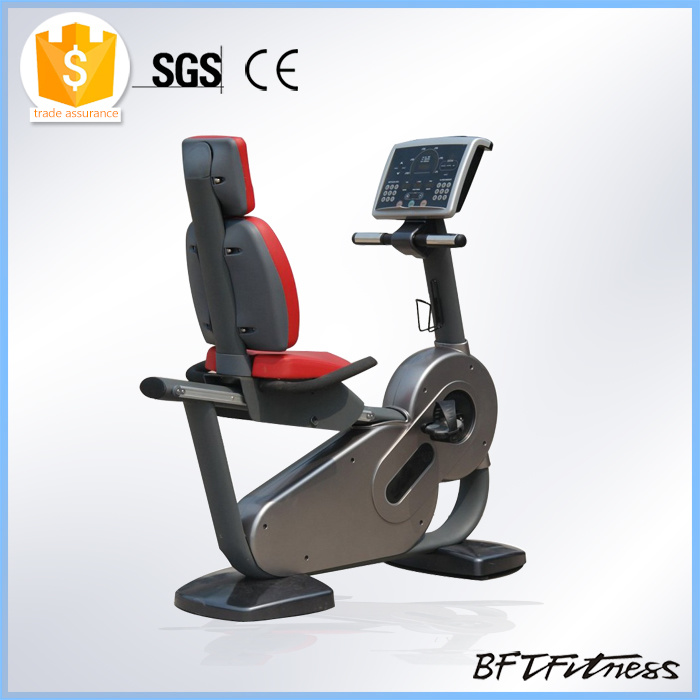 Commercial Cardio Exercise Bike, Magnetic Recumbent Bike