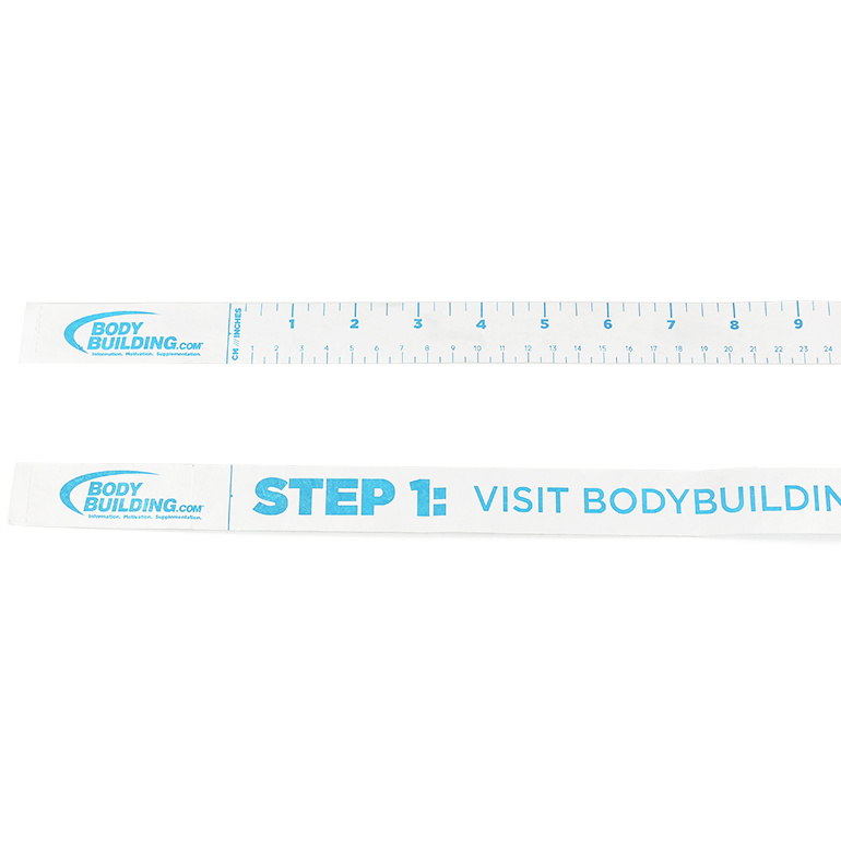 Body Fitness Medical Disposable Water Proof Paper Tape Measure (PT-006)