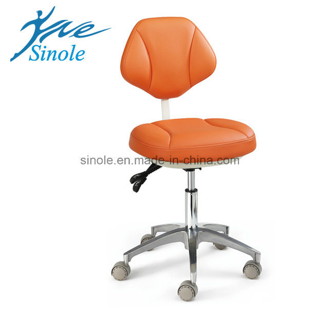 Dental Stool Leather Dental Stool (08029)