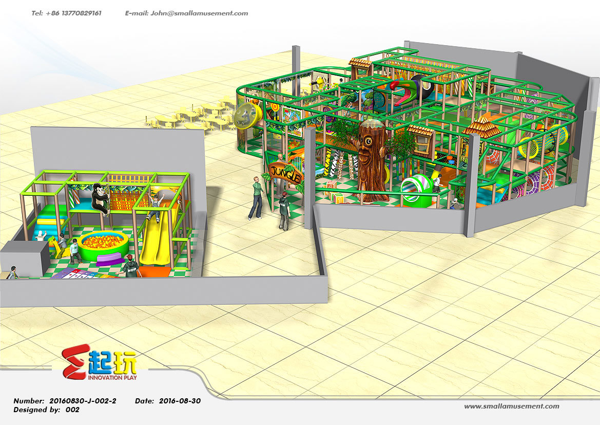 Professional Manufacturer of Indoor Playground