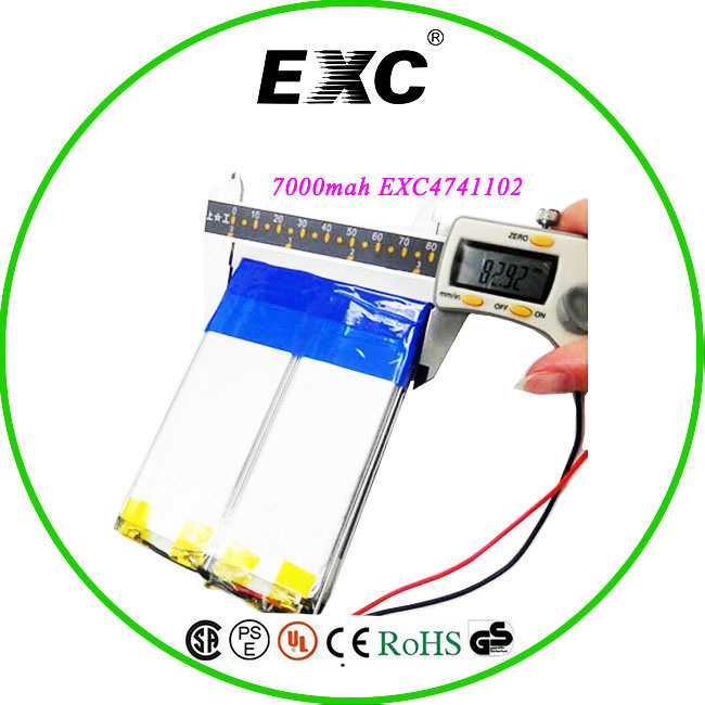 Rechargeable 4741102 3.7V 7000mAh Battery for Table PC