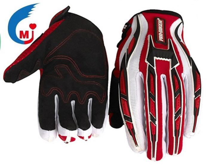 Motorcycle Accessories Motocross Glove of Imitation Microfiber