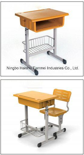 School Single Desk, High School Furniture Desk&Chair