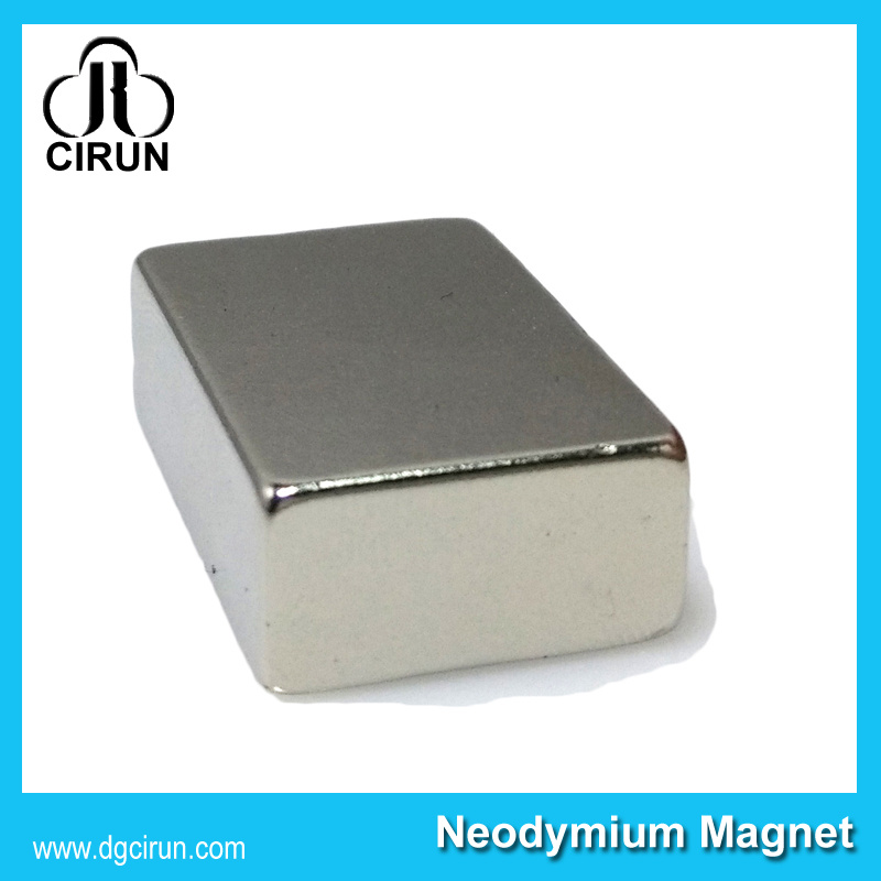 Custom Size NdFeB Permanent Rare Earth Electric Bar Magnet