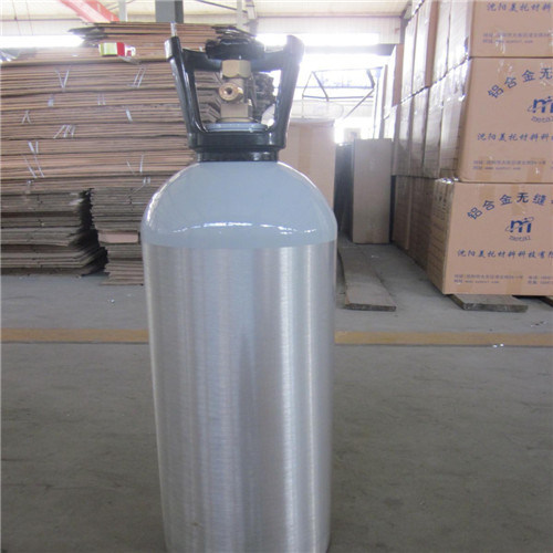 GB 5099 Seamless Steel High Pressure Argon Gas Cylinder