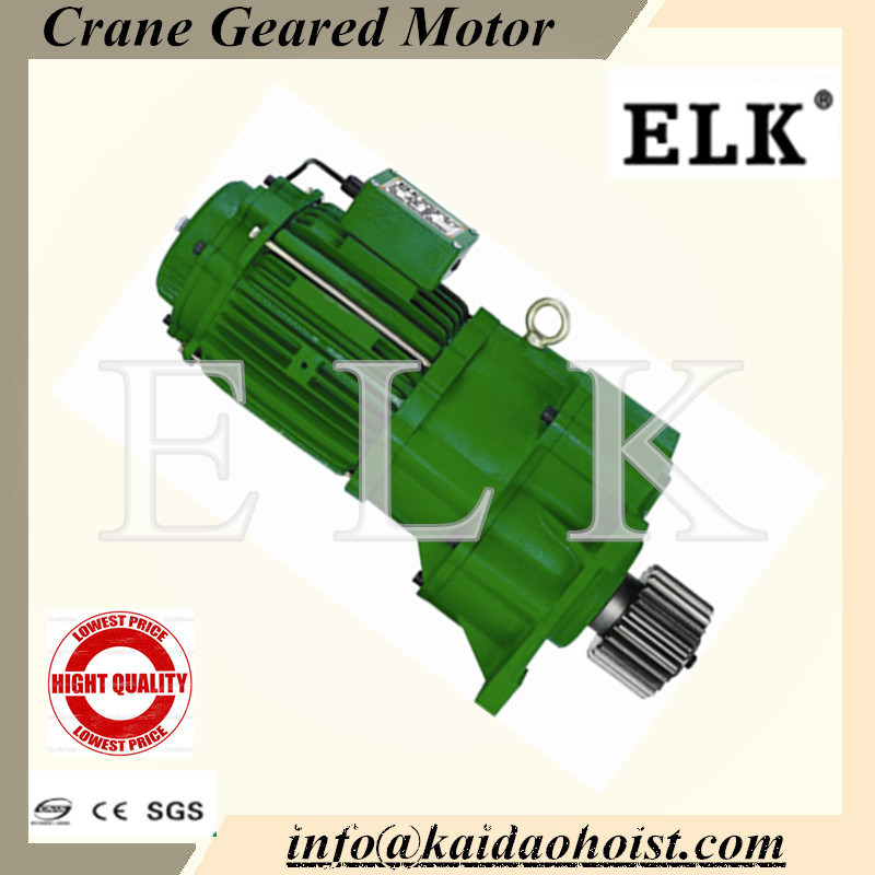 Crane Geared Motor with Buffer