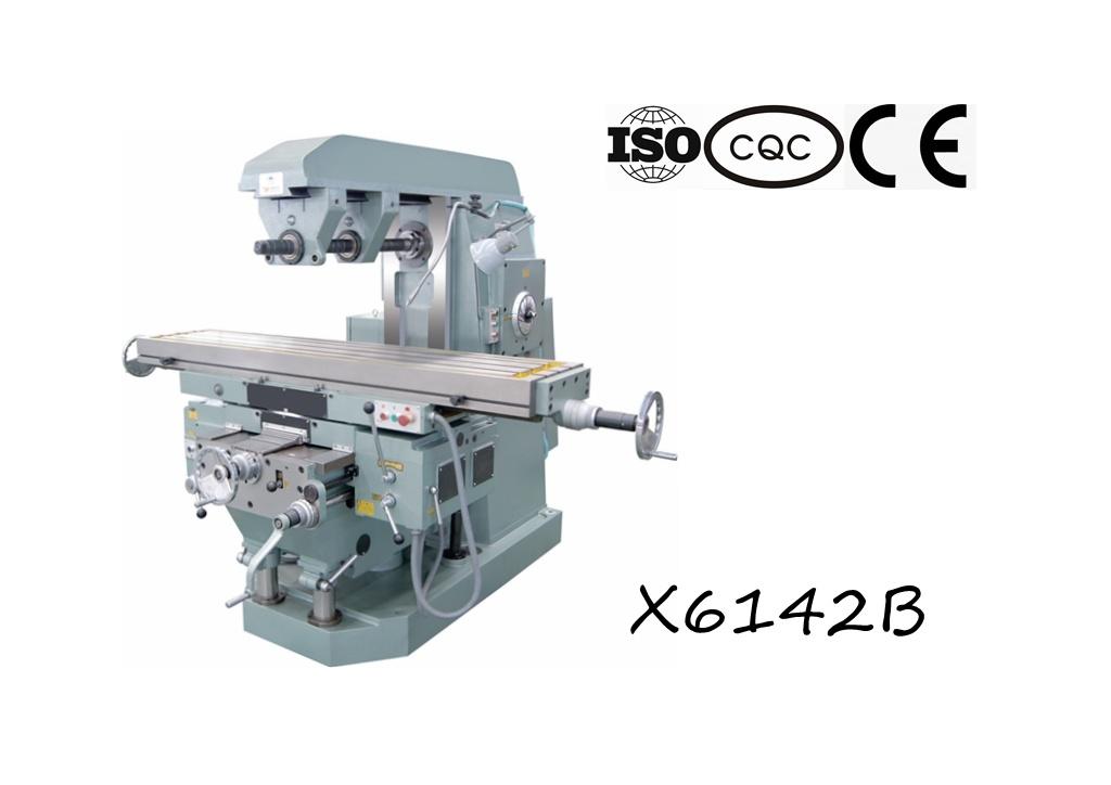 X6142b Heavy-Duty Universal Knee-Type Milling Machine