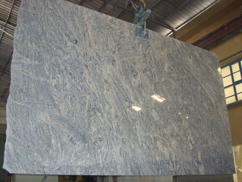 China Juparana Blue Granite Flooring Tile