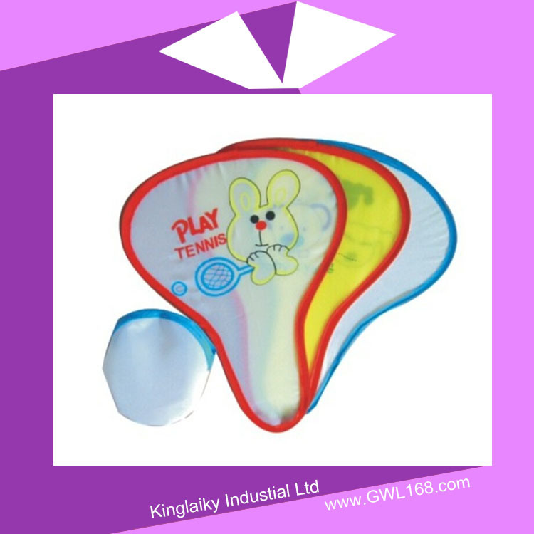 Nylon Foldable Frisbee Fan with Branding Flying Toy FT-001