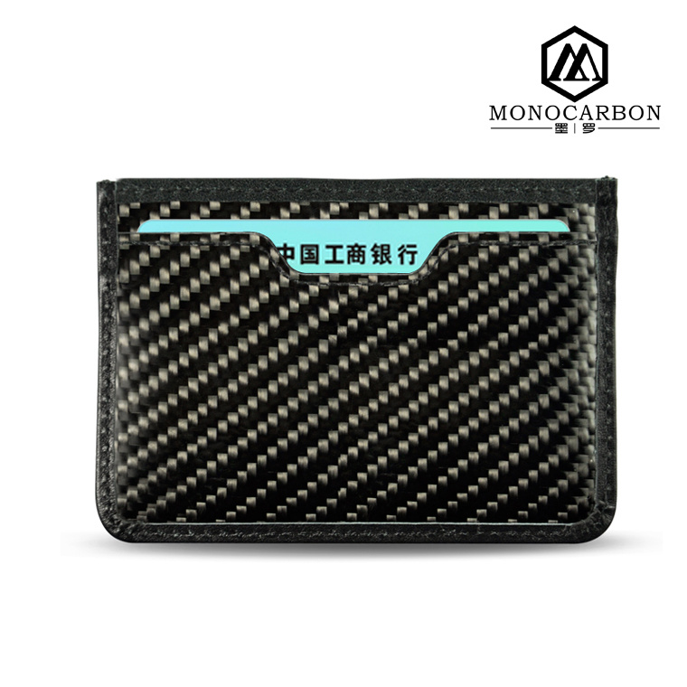New Trend Carbon Fiber Card Holder Money Clip Wallet