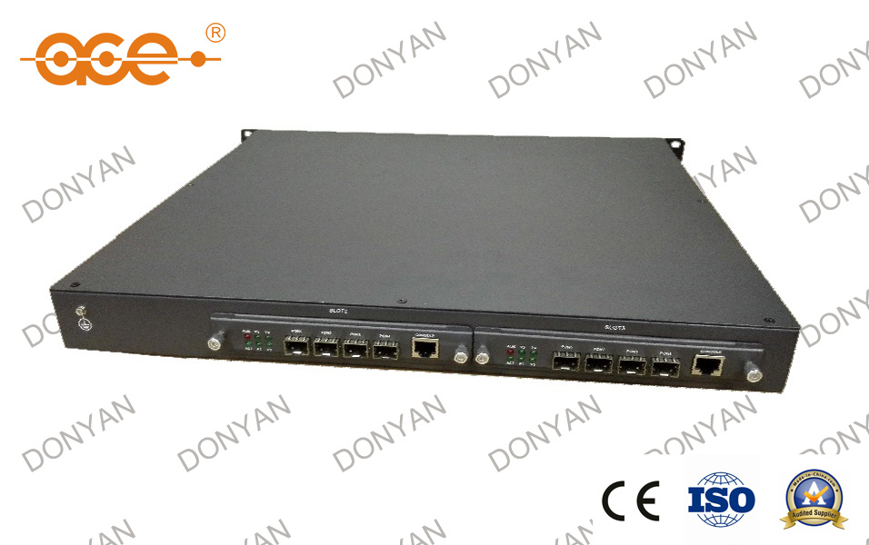 Max 4 Pon / 8 Pon / 12 Pon Ports Optical Line Terminal Epon Olt