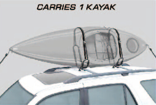 Factory Wholesale Canoe Ski Snowboard Car Kayak Carrier/Rack