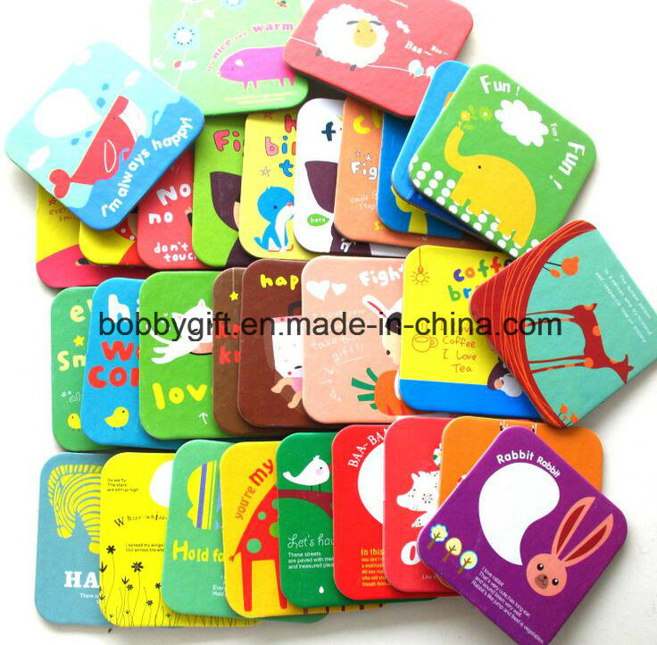 Wholesale Factory Made Paper Coaster for Promotion Gift