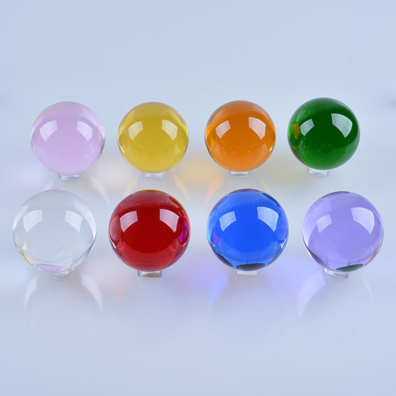 30mm 40mm Small Size Crystal Ball Glass Sphere