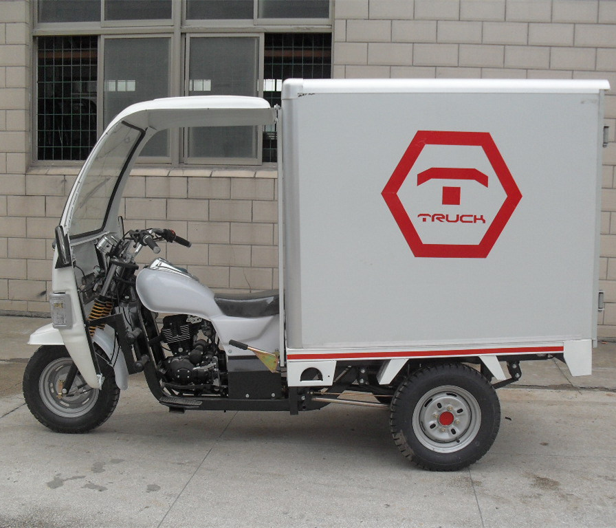 Closed Motorized China Cargo Tricycle with Box (SY250ZH-E7)