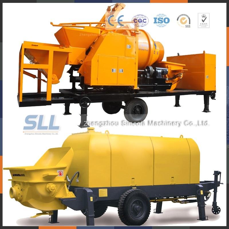 Building Construction Machinery Foam Concrete Pump Machine