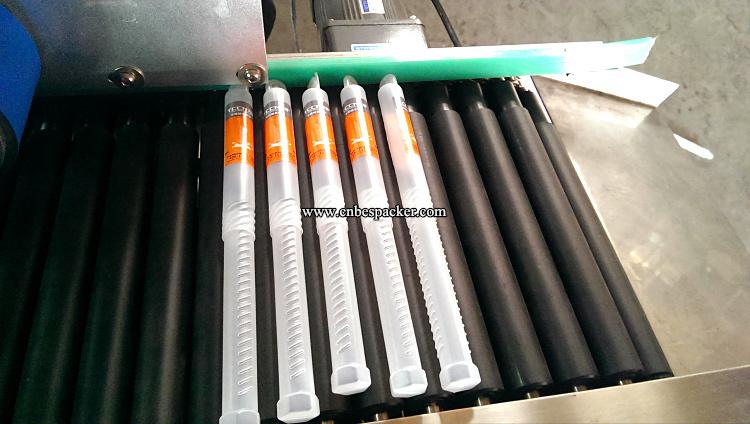 Automatic Horizontal Tube Sticker Labeling Machine
