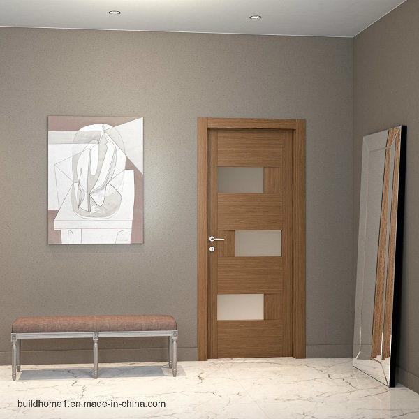 Anti Corrosion Interior Solid Wood Door