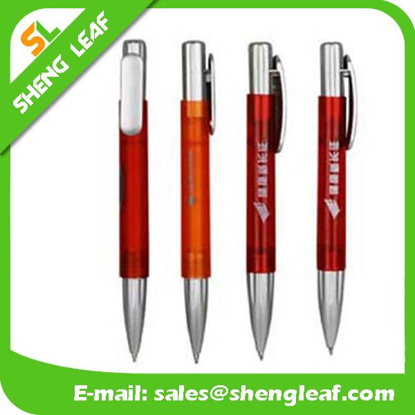 Popular Design Table Ballpoint Pen with Line (SLF-TP006)