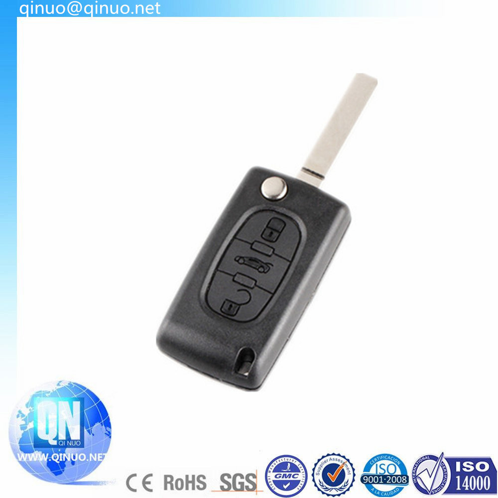 Remote Key FOB 434MHz 3 Buttons Keyless After 2011 for Peugeot 408