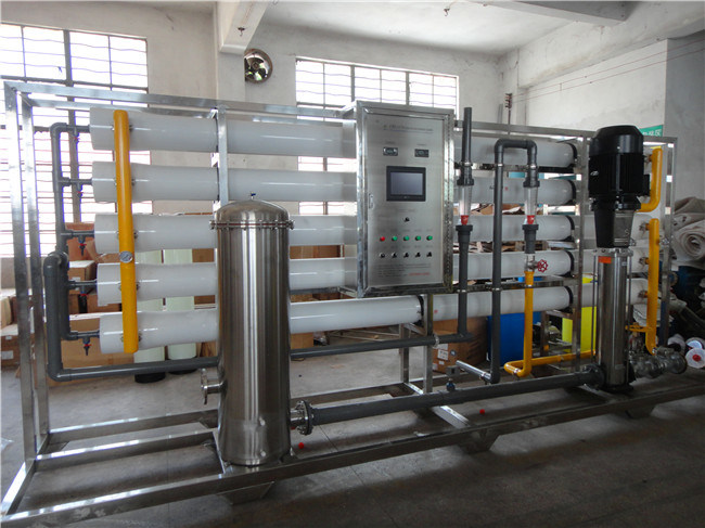 Big Capacity Guangzhou Factory 20m3/H Water Purifier Remove Salt RO Water Filter Remove Salt