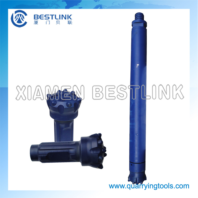 CIR90 Low Air Pressure DTH Drilling Tools for Construction