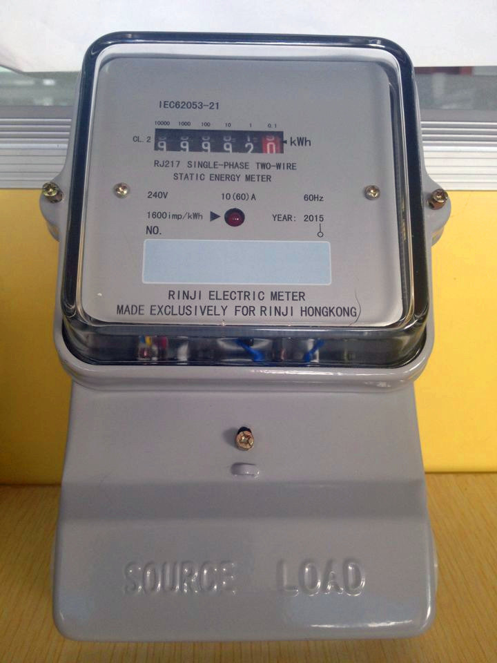 Anti-Tamper Single Phase Energy Kwh Meter