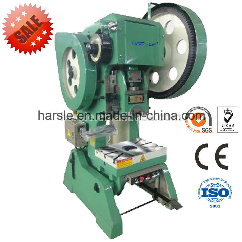 High Accuracy J23 Series Mechanical Punching Press Machine for Bending