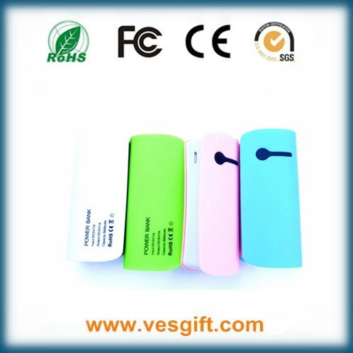 5200mAh Fashion Cute Mobile Phone Portable Power