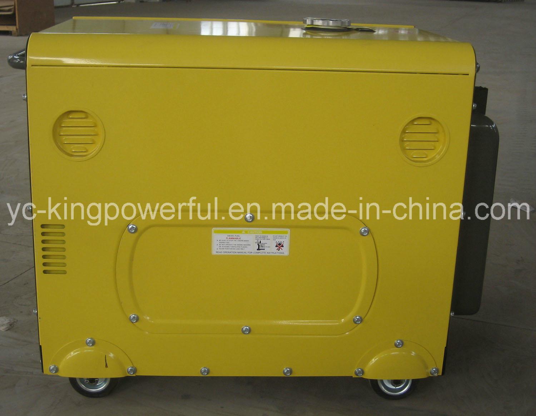 5gf-Lde Gasoline Silence Generating Set Good Quality
