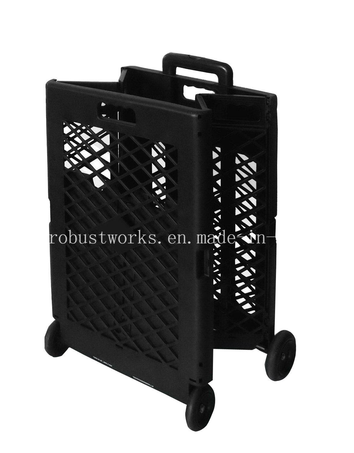 Extra Capacity Plastic Shopping Cart (FC404KP)