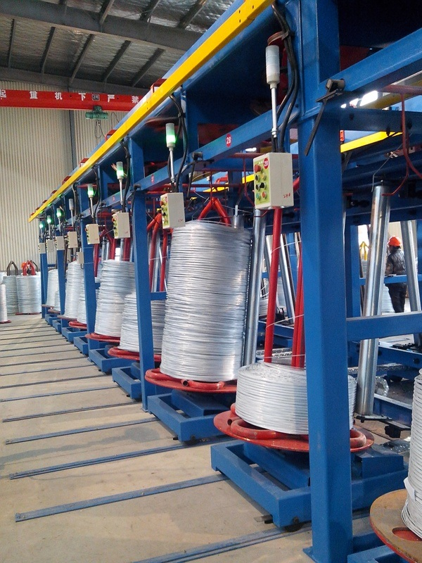 Supply Steel Wire Zn-Al Galfan Galvanizing Machine